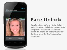 Android 4.0 Face Unlock © Google