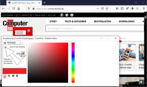 ColorPick Eyedropper für Firefox