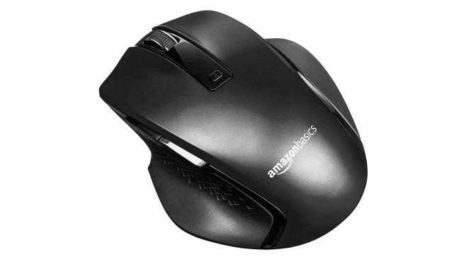 AmazonBasics Ergonomische kabellose Maus ©AmazonBasics