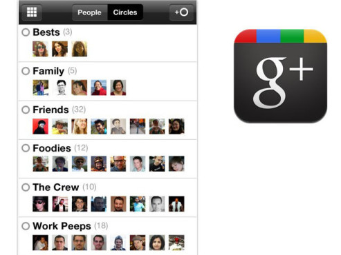 iPhone-App: Google+