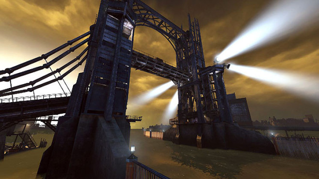 Actionspiel Dishonored: Brücke © Bethesda Softworks