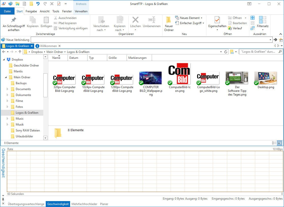 Screenshot 1 - SmartFTP