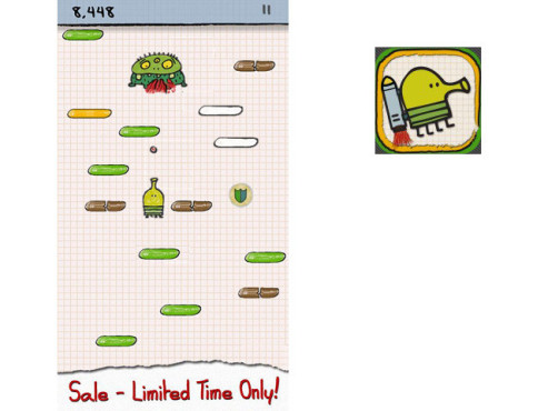 Doodle Jump ©Gamehouse