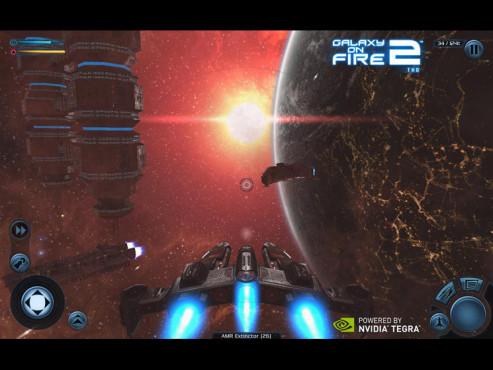 Galaxy on Fire 2 THD ©Fishlabs Entertainment GmbH