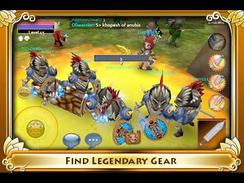 Pocket Legends ©Spacetime Studios