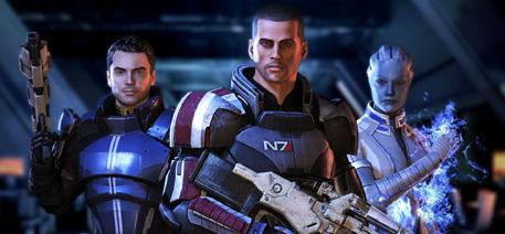 Mass Effect 3: Shepard Suad©Bioware