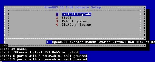 Screenshot 1 - FreeNAS (64 Bit)