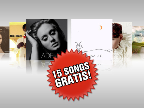 15 aktuelle MP3-Songs gratis © Joy Denalane, Aloe Blacc, Adele, Moby, Patrick Wolf. Owl City