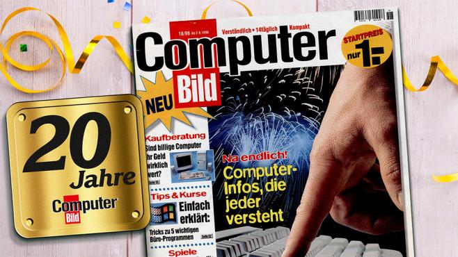 20 Jahre COMPUTER BILD©COMPUTER BILD, ©istock.com/Gilmanshin