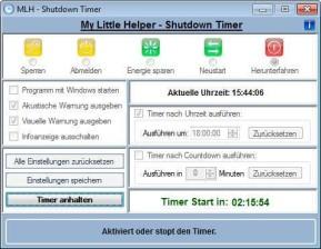 MLH – Shutdown Timer