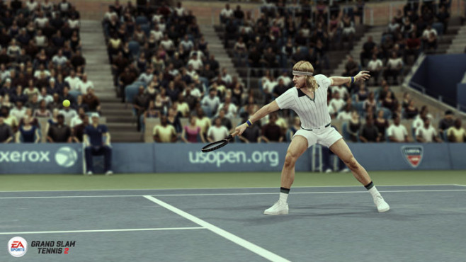 Sportspiel Grand Slam Tennis 2: Björn Borg © Electronic Arts