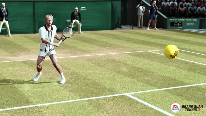 Sportspiel Grand Slam Tennis 2: Boris Becker © Electronic Arts