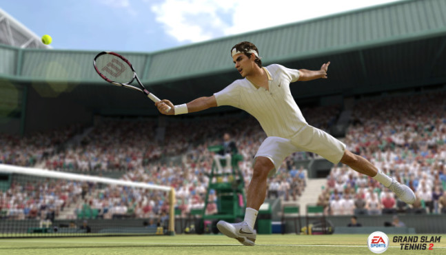 Sportspiel Grand Slam Tennis 2: Federer © Electronic Arts