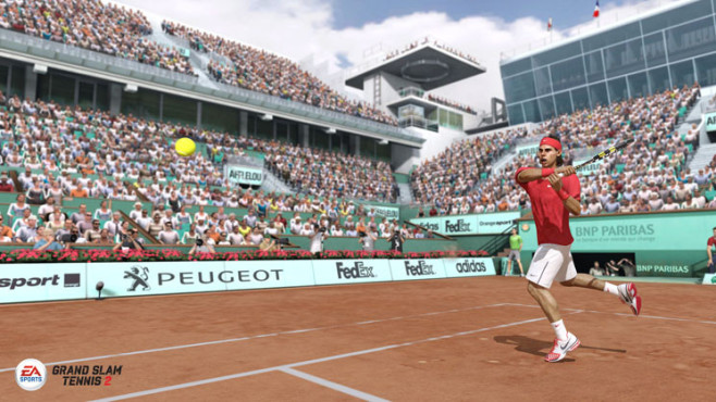 Sportspiel Grand Slam Tennis 2: Rafael © Electronic Arts