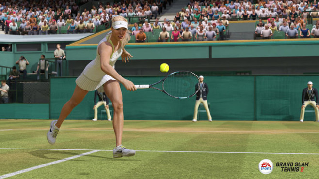 Sportspiel Grand Slam Tennis 2: Rückhand © Electronic Arts