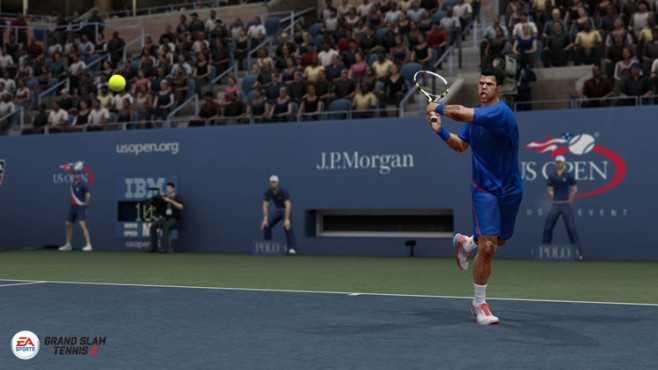 Sportspiel Grand Slam Tennis 2: Tsonga © Electronic Arts
