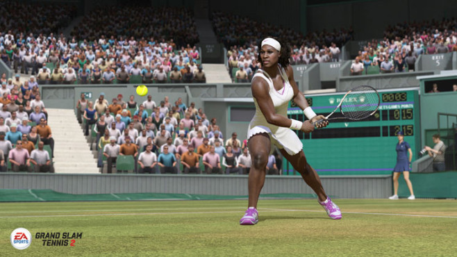 Sportspiel Grand Slam Tennis 2: Williams © Electronic Arts