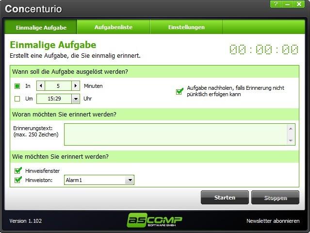 Screenshot 1 - Concenturio