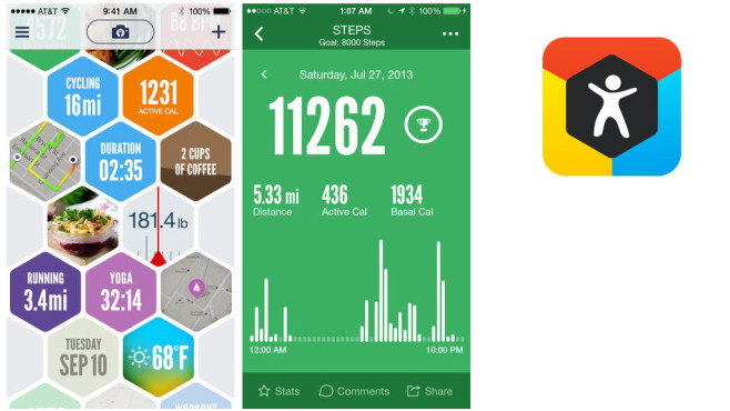 Argus – Motion and Fitness Tracker © Azumio Inc.