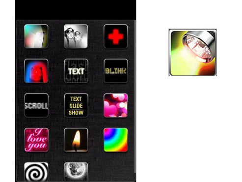 Color Flashlight HD ©Notes