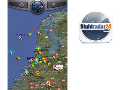 FlightRadar24 Pro ©Svenska Resenatverket