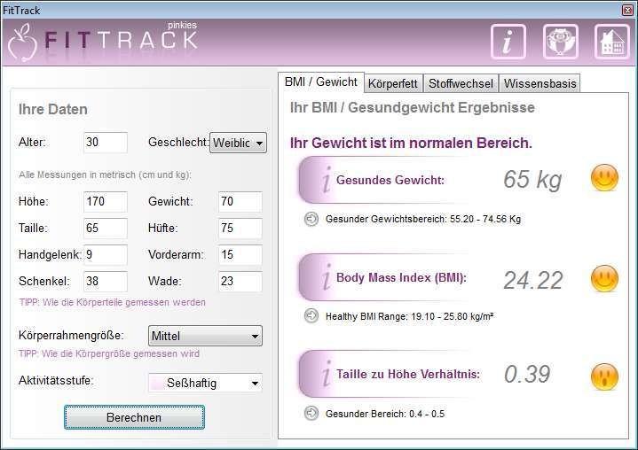 Screenshot 1 - FitTrack