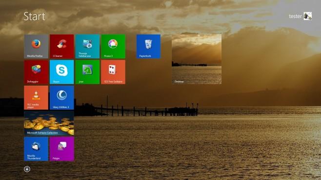 Screenshot 1 - Windows 8 (64 Bit)