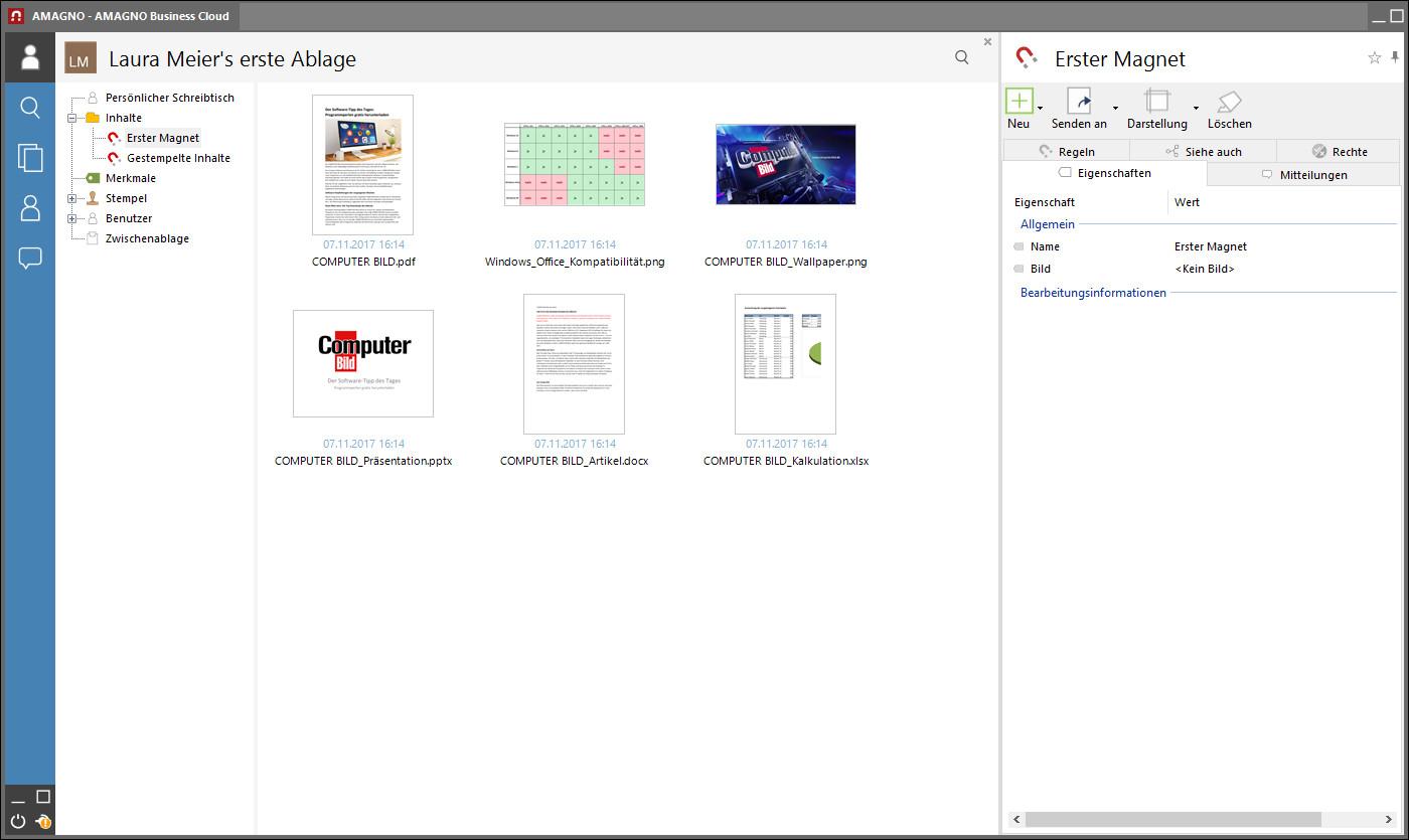 Screenshot 1 - Amagno