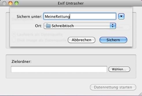 Exif Untrasher (Mac) 1 4 3 - Download - COMPUTER BILD