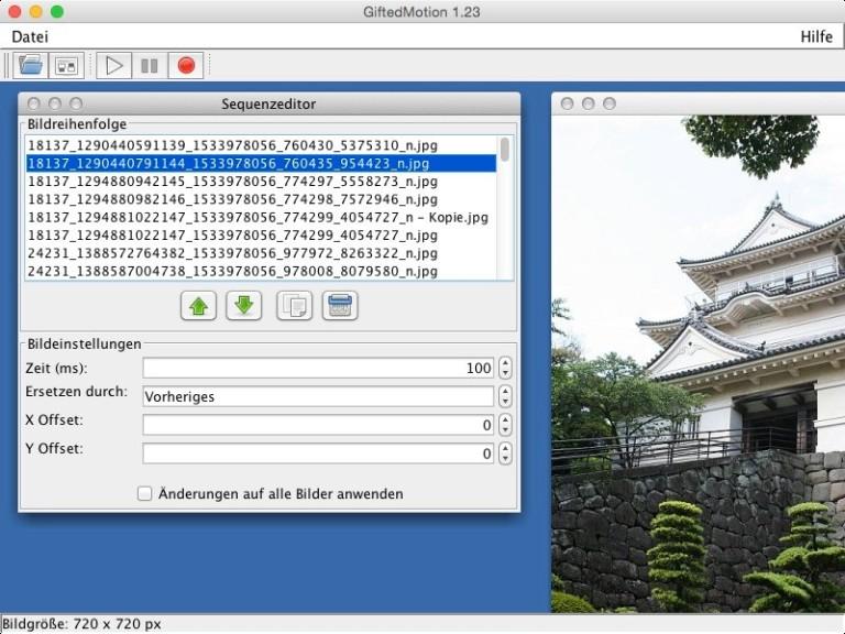 Screenshot 1 - GiftedMotion