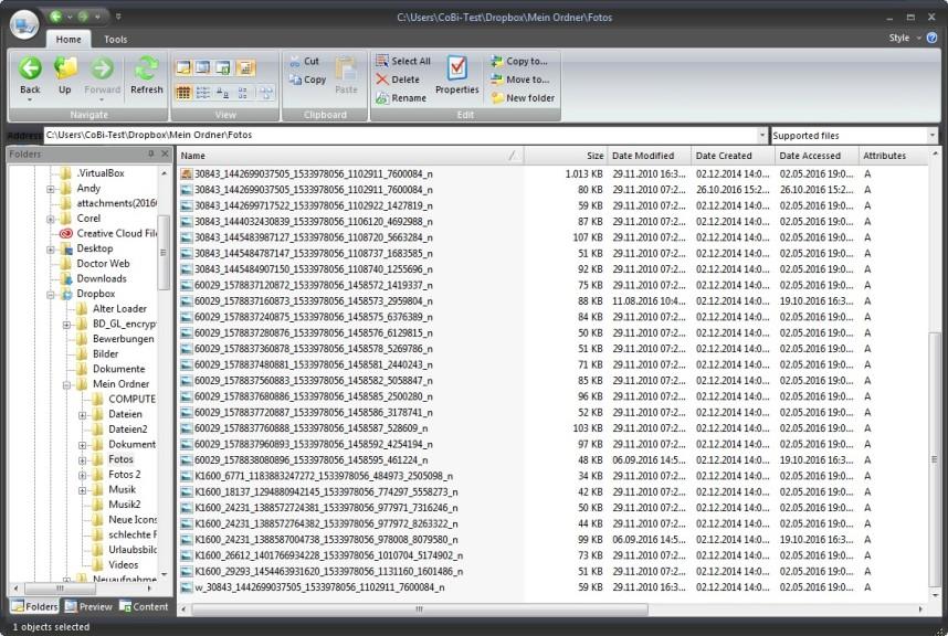 Screenshot 1 - STDU Explorer