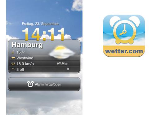 Wetterwecker ©Wetter.com