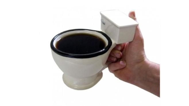 Tasse Toilette - Kaffeebecher WC ©Amazon