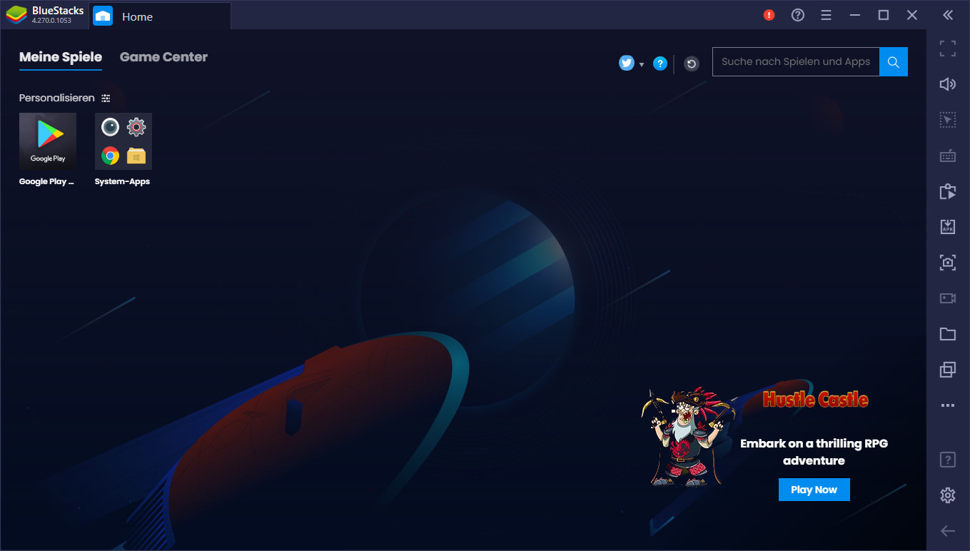 Screenshot 1 - BlueStacks