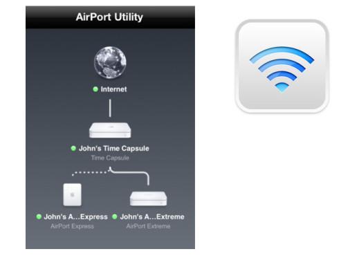 Airport Dienstprogramm ©Apple Inc.