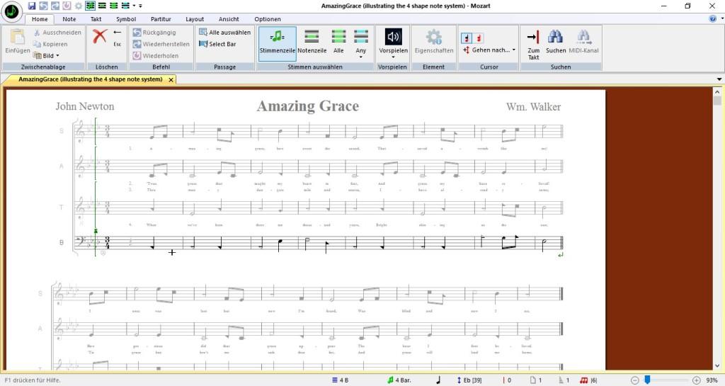 Screenshot 1 - Mozart