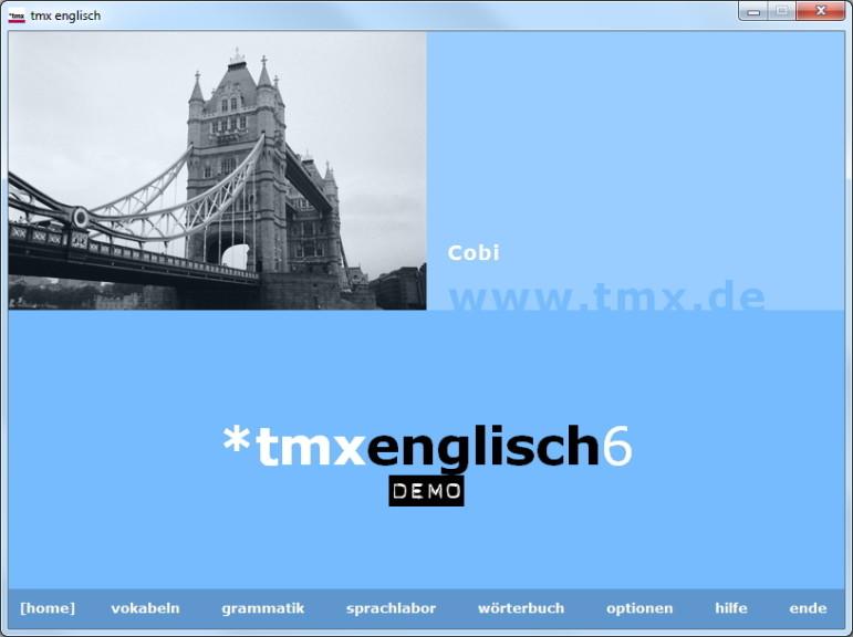 Screenshot 1 - tmx Englisch