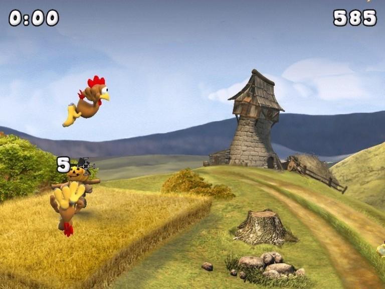 hühner schießen kostenlos