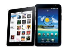iPad und Galaxy Tab©Samsung, Apple