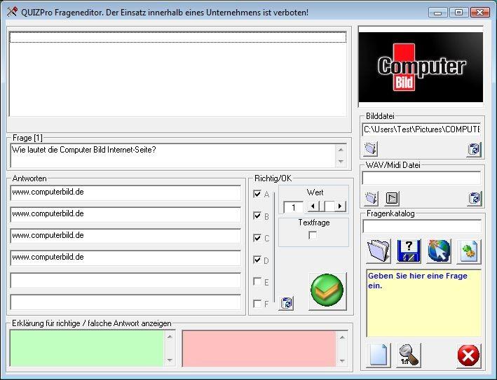 Screenshot 1 - QuizPro