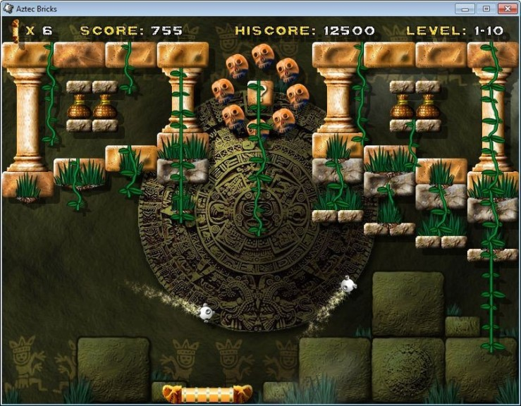 Screenshot 1 - Aztec Bricks