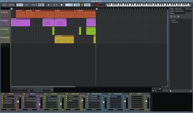 Screenshot 1 - MuLab (Mac)