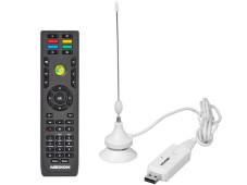 Medion Akoya P6812 Fernbedieung USB-TV-Empfänger (DVB-T)©Medion