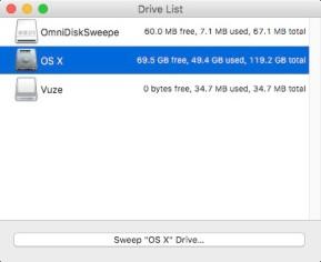 OmniDiskSweeper (Mac)