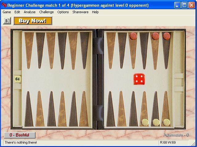 Screenshot 1 - Serious Backgammon