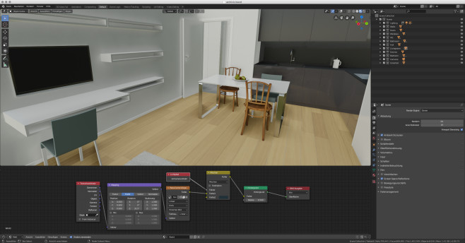 Screenshot 1 - Blender (Mac)