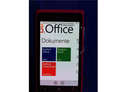 Windows Phone 7 © COMPUTER BILD