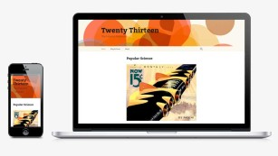 Wordpress-Theme Twenty Thirteen © wordpress.org