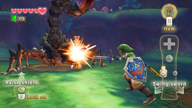Abenteuerspiel The Legend of Zelda – Skyward Sword: Feind © Nintendo
