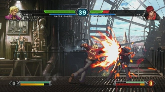 Prügelspiel King of Fighters 13: Duell © dtp entertainment